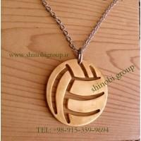 گردنبند والیبال طلایی