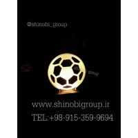 چراغ خواب رومیزی طرح توپ فوتبال