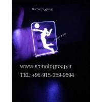 بالبینگ (چراغ خواب رومیزی) طرح والیبال سایز کوچک