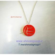 گردنبند توپ والیبال 1 - پلکسی